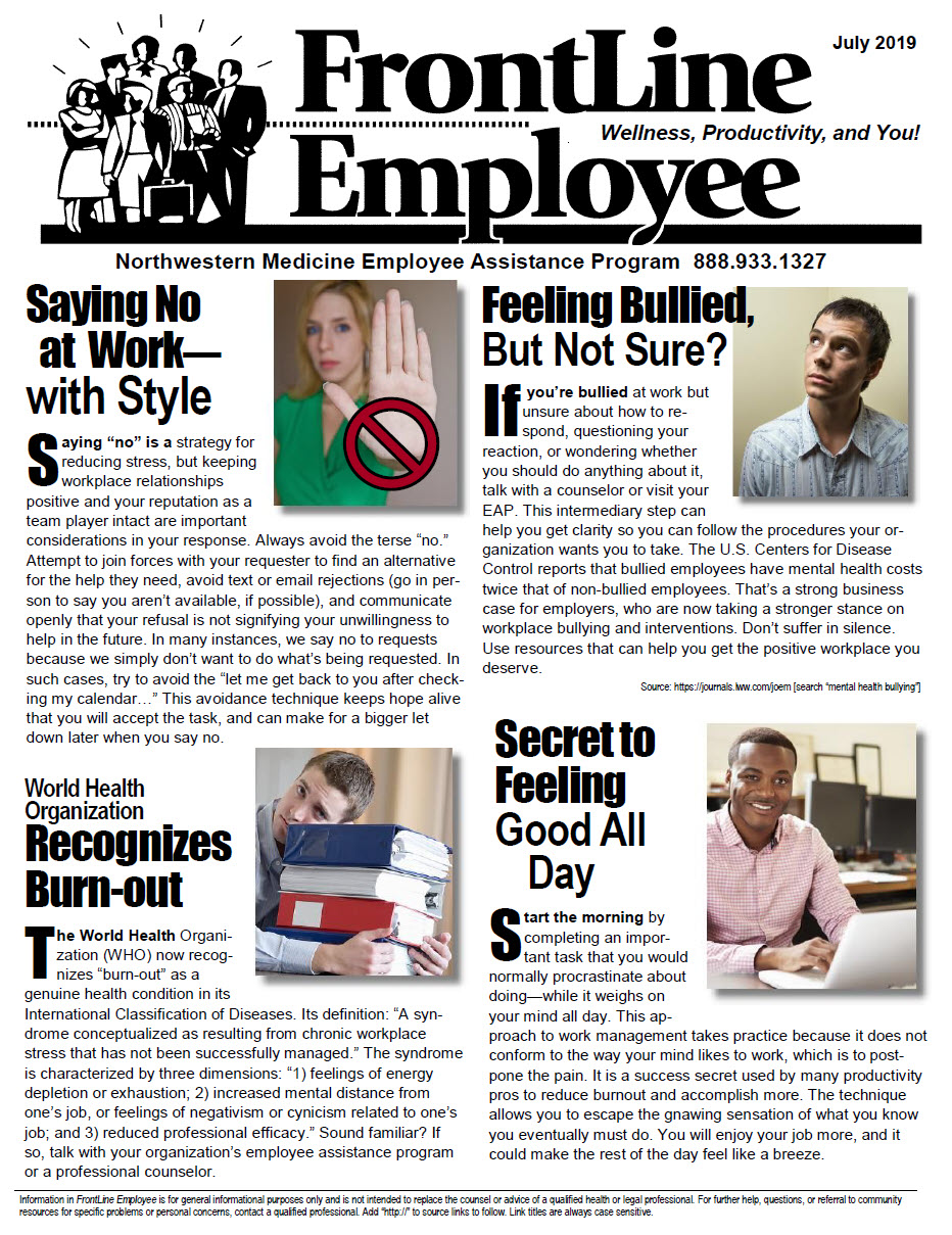FrontLine Employee July 2019