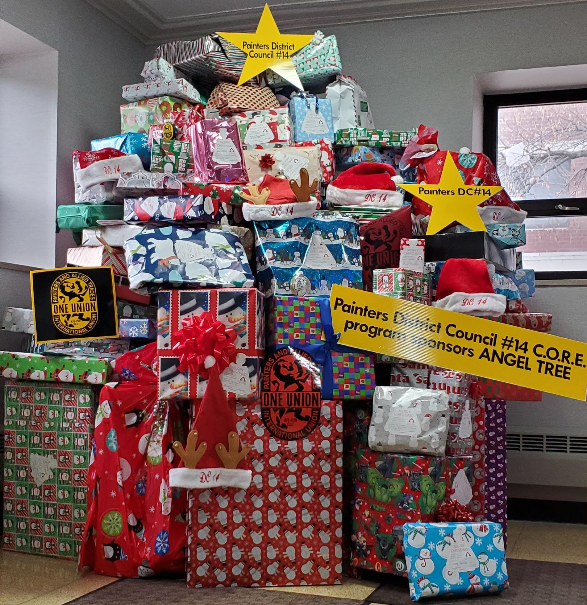 Thanks For All Your Angel Tree Donations!