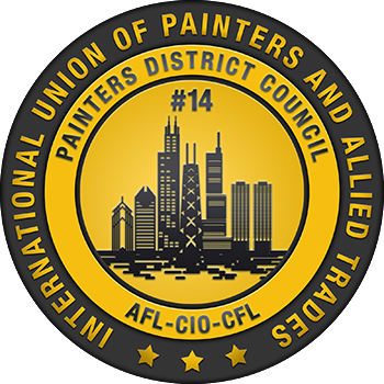 PDC14 - Painters District Council 14 logo